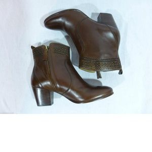 Aerin Shoes - NEW Aerin Tilstone Brown Leather Ankle Boot